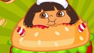 Dora The Explorer Fat Dora - Hungry Dora Cartoon Game For Kids