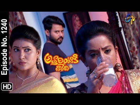 Attarintiki Daredi | 25th October 2018 | Full Episode No 1240 | ETV Telugu