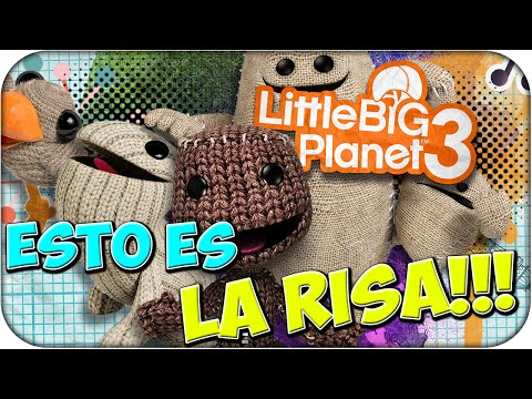 Esto es la risa!! - Little Big Planet 3