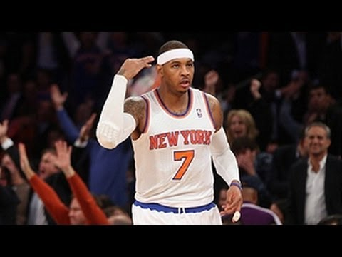 Carmelo Anthony's Red-Hot First Quarter!