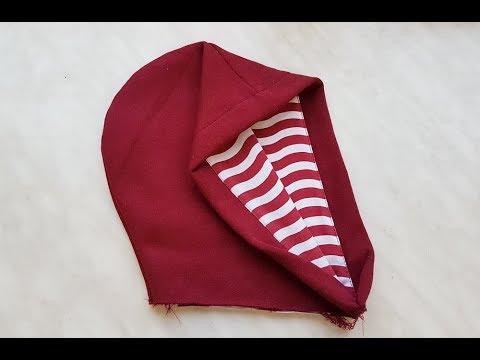 How To Sew A Hood - Two-sided. Jak Uszyć Dwustronny Kaptur