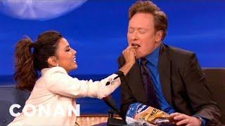 Eva Longoria's Search For The Next Great Potato Chip Flavor - CONAN on TBS