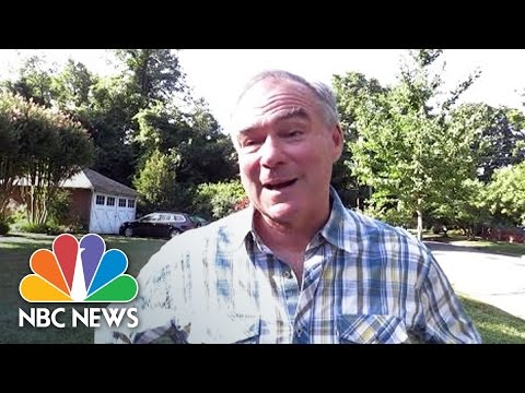 Tim Kaine On Mike Pence: 'Donald Trump's Entitled To Make His Pick' | NBC News