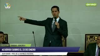 Venezuela- Diputados de la AN discutieron acuerdo del 23 de enero - VPItv