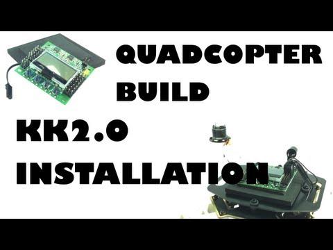 Quadcopter build - KK2.0 installation - eluminerRC