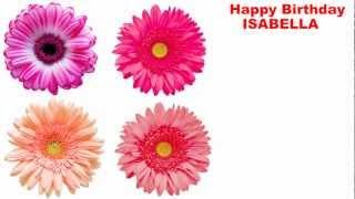 Isabella - flowers - Happy Birthday