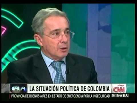 ENTREVISTA  AL EXPRESIDENTE Y SENADOR URIBE VELEZ CNN CALA P1