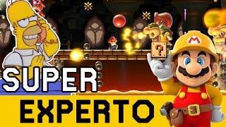 Me Tocan Muchas BAZOFIAS ! 😨  - SUPER EXPERTO NO SKIP | Super Mario Maker - ZetaSSJ