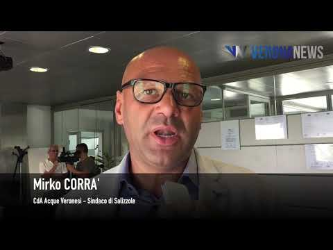 Servizio del 05.08.18 - Acque Veronesi fa iul punto sui futuri investimenti. Interviste Mantovanelli e Corra'