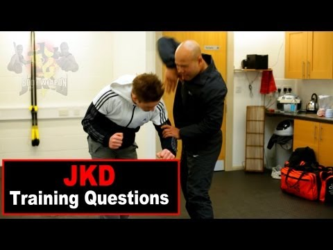 jkd techniques intercept elbow to the head Q11 Image 1