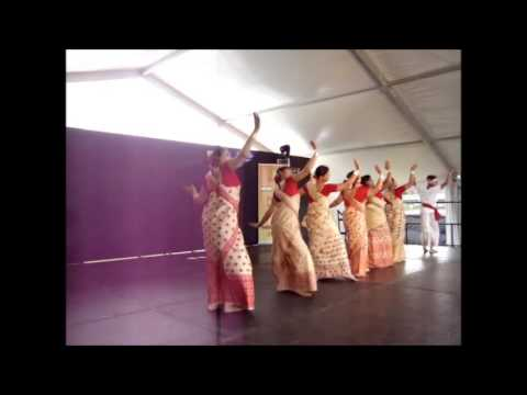 Adelaide Bihu By Assamese Community In Indian Mela 2014 video