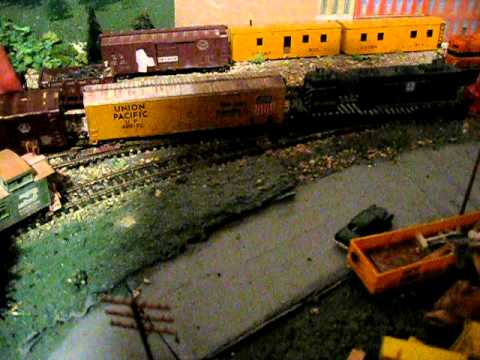 Old HO railroad cars: Cardstock and Tin. I Give You A Quick Look At ...