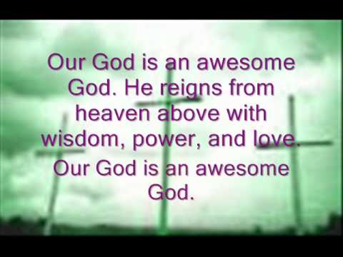 Rich Mullins - Awesome God Lyrics video