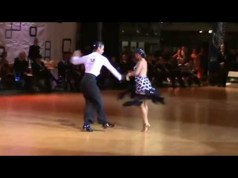 Idsf International Open Latin   Dsfo 2011   Charles-guillaume And Elena  -- Solo Samba video
