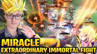 Miracle Invoker ft Xcalibur VS NAVI Crystallize GeneRaL & MagE- Dota 2 7.17
