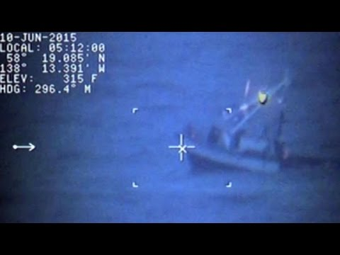 Watch: Dramatic Coast Guard rescue off Alaskan coast