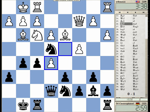 Blitz Chess #406 with Live Comments Queen's Indian London System