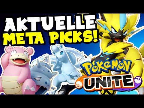 POKÉMON UNITE: Aktuelle META! Welche Pokémon sollte man wo am besten spielen? (German/Deutsch)