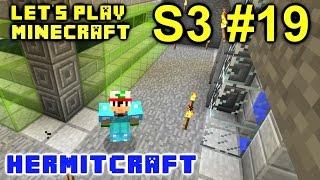 Minecraft Amplified Survival Ep. 19 - New Skeleton XP Farm !!! ( Hermitcraft Server )