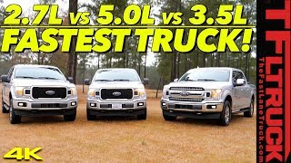 Can a V8 Still Compete in a Turbocharged World? We Tune & Drag Race Three Trucks To Find Out!