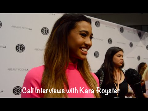 Cali Interviews with Kara Royster at Beautycon 2016