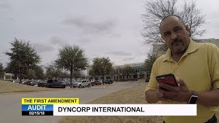 First Amendment Audit - DynCorp International - Defense Contractor