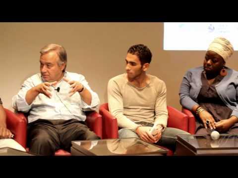 Conferência com António Guterres - ACNUR