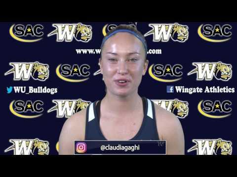 2017 Wingate Women's Tennis - Meet The Bulldogs Video Roster