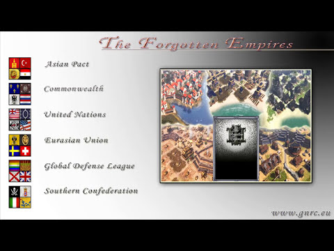 Age of Empires III Mod The Forgotten Empires Trailer