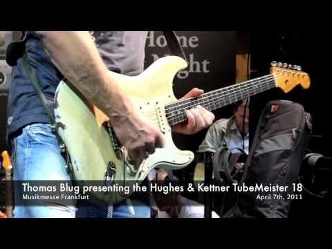 Thomas Blug presenting the new Hughes&Kettner TubeMeister 18 (Part 2)