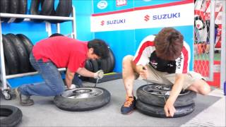 h-powers tire change