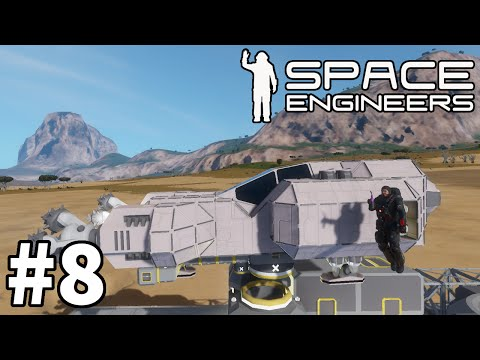 "Space Engineers (Planet Survival) - Part 8 ""Power Failure!"""