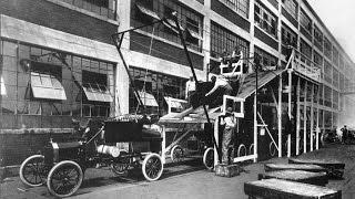 Evolução das linhas de montagem de automóveis
