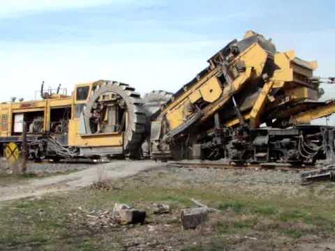 ballast cleaner machine
