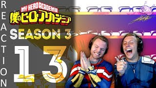 SOS Bros React - My Hero Academia Season 3 Episode 13 - Dorm Design Competition!