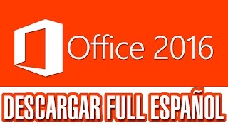 Como descargar e instalar Microsoft Office Profesional Plus 2016 GRATIS + CRACK