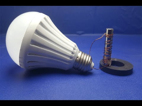 Free Energy light blub device with magnet mini 100%  - New idea thumbnail