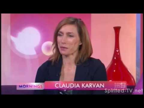 Claudia Karvan on Mornings Ch9 Feb 8 2012