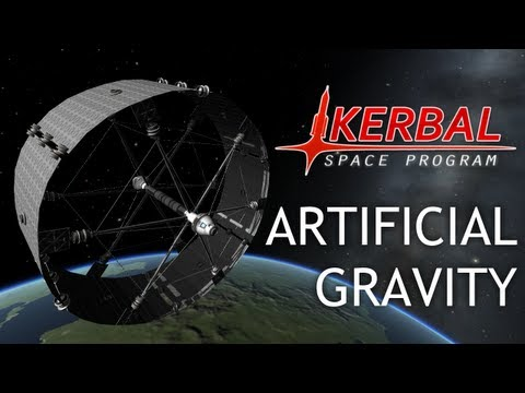 Artificial Gravity (Kerbal Space Program)