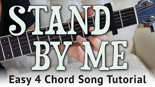 """""""Stand By Me"""" Easy Guitar Tutorial - Ben E. King 