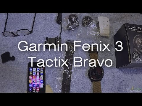 Creatures Alone 2 : Unboxing ( after 1 hr.) garmin fenix 3 tactix bravo