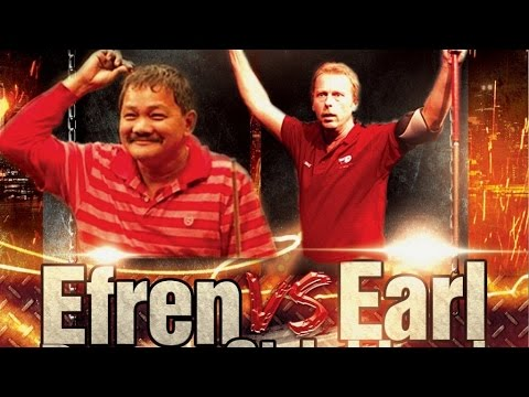 Efren Reyes VS  Earl Strickland The Battle of Legends at Steinway Billiards  9 Ball Part 1