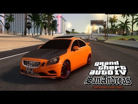 GTA IV San Andreas Beta - Volvo S60 Modified