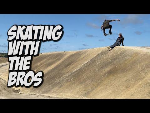 SKATEBOARDING WITH THE BROS !!! - NKA VIDS