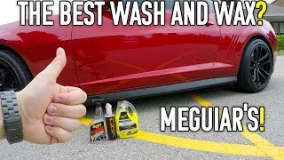 Meguiar's Ultimate Wash and Wax The Best? UNREAL RESULTS!