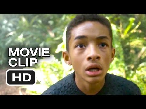 After Earth Movie CLIP - Monkeys (2013) - Will Smith Post-Apocalyptic Movie HD