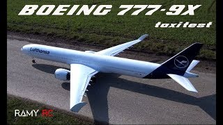 Introducing the first Boeing 777-9X RC model airplane/Lufthansa