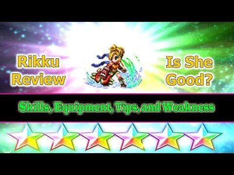Final Fantasy Brave Exvius 6 stars Rikku Review: The Metarial Girl(#160)