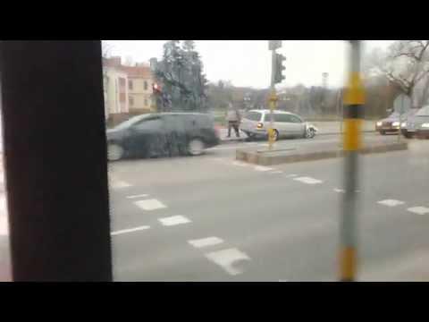 VW Passat avarija Panevėžyje
