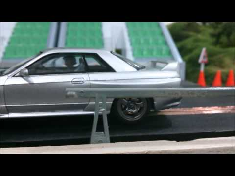 Malaysia Slot Cars : Hpi Skyline R32 Slot Car Converted to Scalextric Digital